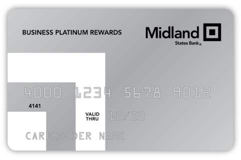 Graphic of the Midland Business Platinum Credit Card