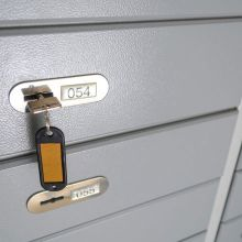 Lockbox with key
